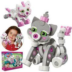 Chat & chaton de Bloco Modèle: BC-20003  http://411buyitnow.com/fr/jeux-jouets/jouets/jeux-de-casse-tetes/chat-chaton-bc-20003-de-bloco.html