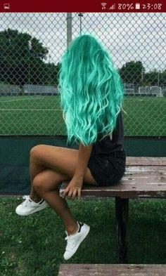 Pretty and Attractive Blue Hair Style * Page 15 of 21 – dark blue hair,b… – unterhellt Haare Cute Hair Colors, Pretty Hair Color, Beautiful Hair Color, Hair Dye Colors, Ombre Hair Color, Amazing Hair Color, Weird Hair Colors, Punk Hair Color, Hair Color Ideas