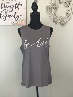 836b7587f Sugar Pine Boutique · Products · Be Kind Muscle Tee