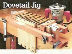 Dovetail Jig Plans - Joinery Tips, Jigs and Techniques | WoodArchivist.com