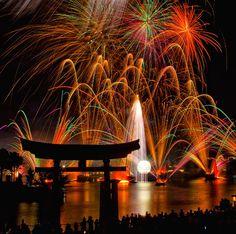 Disney Illuminations (as seen from the china Pavilion in EPCOT) Disney Dream, Disney Magic, Disneyland Paris, Disney Vacations, Disney Trips, World Disney, Disney Fireworks, Fireworks Photography, World Photography