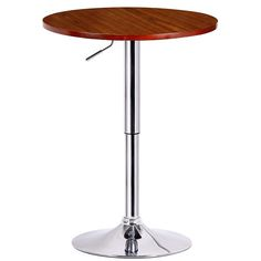 Runda Adjustable Pub Table by Boraam Ind