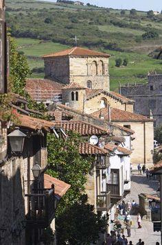 Cantabria - The historic region of Santilana del Mar #spain #travel #europe #cantabria #village #history