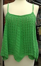 Ravelry: VENTURA Swing Tank Top pattern FOR SALE by Stacey Tallman