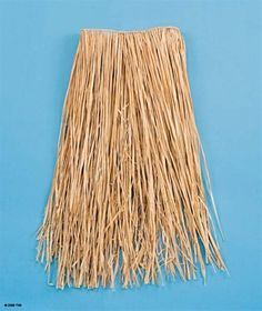NATURAL RAFFIA GRASS HULA SKIRT