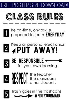 free-class-rules-posterdownload-promo