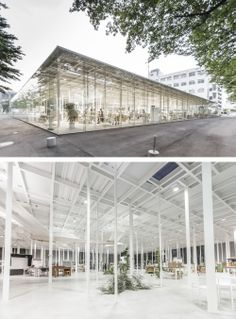 Kait Workshop by Junya Ishigami Architects. Photos by Rasmus Hjortshøj