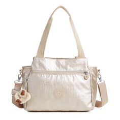 Elysia Metallic Handbag - Gleaming Gold