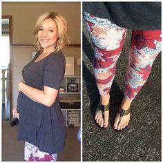 LuLaRoe Perfect Tee and Leggings as Maternity