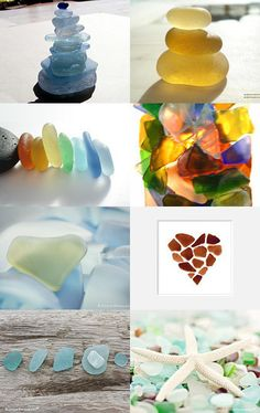 Sea Glass Art_is it real or manmade. Only the seller knows OR R the buyers getting savvy to rhese tricks. i PRAY FOR EACH