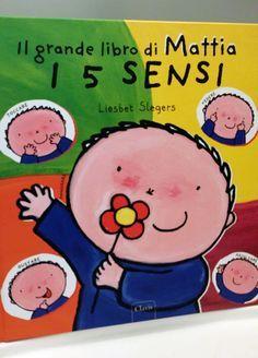 """LIBRI PER BAMBINI: """"Il grande libro di Mattia - i 5 sensi"""" e """"In un bicchier d'acqua"""""""