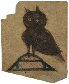 Bill Traylor--Owl