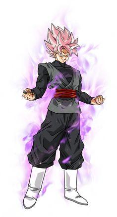 Black Goku super saiyan rose by BardockSonic on @DeviantArt