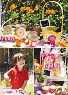 Colorful & Modern Mothers Day Lunch {+ Free Printables}