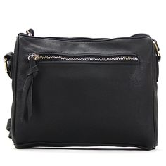 I adore my Pop Fashion Crossbody Bags for Women. It's just the perfect size for my wallet and essentials. The material is very durable with all the use I put it through. I like that there is more than enough room for storing my wallet, phone and beauty products. This hits just the right length on me. You can't find a better casual bag that goes with everything! #Elite1Reviews