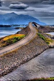 Amazing Snaps: Atlantic Ocean Road...'