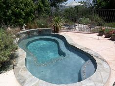 spa pool spool | Spool with waterfall | Home | Pinterest | Spa ...