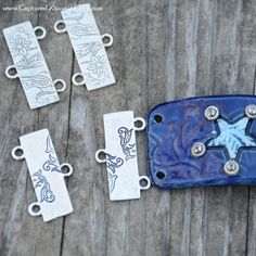 Decorative Ends in Sterling Silver Plate by CapturedMoments