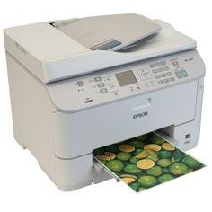 ESPON WORKFORCE PRO WP-4525DNF   Impresora, fax, copiadora y escáner. Alimentador automático de documentos. Dúplex en impresión, copiado y escaneado. PC-fax de envío. Velocidad de impresión de 26 ppm monocromo y 24 ppm color. Resolución Escáner 1200 x 2400ppp (CIS). Conexión USB de alta velocidad, Ethernet. Cartuchos disponibles en alta capacidad (3.400 páginas). Ahorro 50% costes de impresión VS láser y 80% en consumo eléctrico.