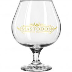 Mastodon Emperor Of Sand Logo Brandy Glass Wine Glass - Barware Items - Home Décor - Rockabilia