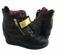Wedges, Boots, Sneakers, Fashion, Crotch Boots, Tennis, Moda, Slippers, Fashion Styles