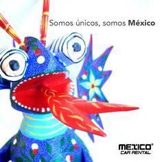Los Alebrijes son una artesanía mexicana única, están hechos de varios tipos de papel o madera tallada y pintada con colores alegres y vibrantes.