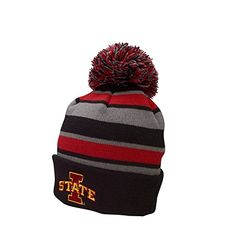 NCAA Iowa State Cyclones Comeback Beanie, One Size, Black/Scarlet/Graphite:   Drawing inspiration from the natural surroundings of Colorado, we combine innovative fabrics, colors and styling, with incredible embroidery and printed graphics to create cool and unique looks. The Ouray Sportswear brand is designed and constructed to fit better, last longer, and perform at the highest levels. Ouray Sportswear is committed to supporting our team members with the highest standards of social r...