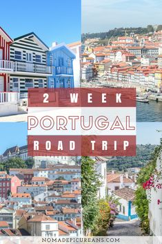 Portugal Road Trip Itinerary: 2 Weeks in Portugal Vacations To Go, Vacation Destinations, Vacation Trips, Portugal Vacation, Portugal Travel Guide, Portugal Trip, Visit Portugal, Spain And Portugal, Coimbra Portugal