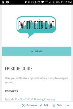 Episode Guide, Brewing Company, Beer, Root Beer, Ale