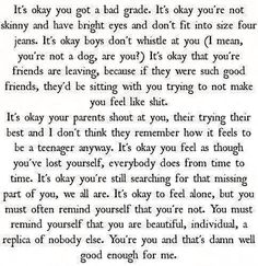 This is a really deep pin,love it even though I only relate to some of it.