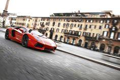 Lamborghini Aventador LP 700-4 in Rome