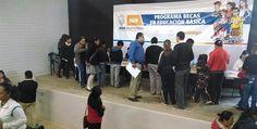 Sistema Educativo entrega becas en San Quintín
