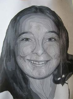 how to quilt a face. I want to try this