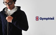 【楽天市場】Gymphlex ジムフレックス キルティング ジップアップパーカー・j-1128(全2色)(unisex)【2014秋冬】:Crouka LR(クローカ エルアール)
