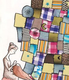 Quilting by Emma Block