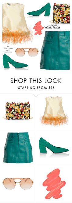 """""""Do small things with great love."""" by jan31 ❤ liked on Polyvore featuring Prada and Obsessive Compulsive Cosmetics"""