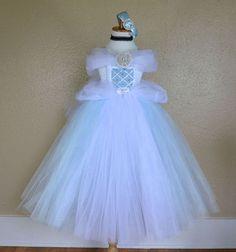 Cinderella Inspired Deluxe Princess Tutu by PrincessFactoryTutus