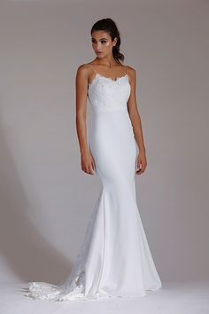 Browse Brides Selection's hand-picked collection of beautiful bridal dresses from some of the industry's most reputable designers. Beautiful Bridal Dresses, Deb Dresses, Full Length Gowns, Affordable Wedding Dresses, Strapless Dress Formal, Formal Dress, Dress Patterns, Marie, One Shoulder Wedding Dress