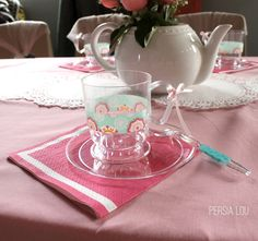 A Fancy Tea Party Birthday Celebration by Persia Lou
