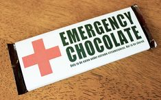 Who couldn't use an emergency supply of chocolate to keep in their purse, desk or car? Turn an ordinary candy bar into a cute and thoughtful gift for those people in your life who you want to show appreciation for. How about your favorite cashier at the grocery store, or the person you buy your coffee from every morning?