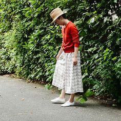 リラックスワイドパンツの製図・型紙と作り方 Fashion Sewing, Diy Fashion, Fashion News, Womens Fashion, Handicraft, Sewing Crafts, Diy Crafts, Lace Skirt, Shorts