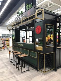 CAVA EXITO WOW - DIAGEO/PERNOD - FROG DESIGN on Behance Cafe Shop Design, Kiosk Design, Mobile Coffee Shop, Mobile Food Cart, Pop Up Cafe, Small Coffee Shop, Container Cafe, Coffee Drink Recipes, Frog Design