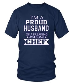 Teezily sells Unisex Tees I'M A PROUD CHEF's HUSBAND online ▻ Fast worldwide shipping ▻ Unique style, color and graphic ▻ Start shopping today! Chef Kitchen, Husband, Tees, Mens Tops, Shopping, Chemises, Teas, T Shirts, Tee Shirts