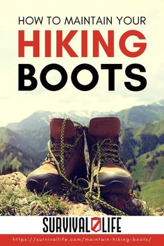 Maintaining your hiking boots is the last thing you may want to do after a long hike, but getting into this habit matters more than you may think. When you clean and maintain your hiking boots, you can make them last longer, saving you from unnecessary expense when your favorite boots fall apart. Read on for important instructions on how to clean hiking boots. #survivallife #survival #preparedness #survivalist #prepper #camping #outdoors #spring #outdoorsurvival #hiking #hikingboots Survival Life, Survival Gear, Camping Outdoors, Outdoor Survival, Hiking Boots, Belts, Reading, Spring, Fall