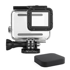 Navitech 9 in 1 Action Camera Accessory Combo Kit and Rugged Blue Storage Case Compatible with The GOPRO Hero 7 White