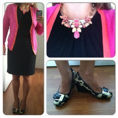 Petite Style File: More Pink and Leopard