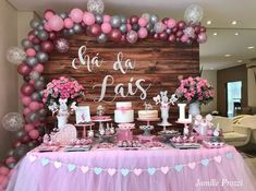 Baby Shower Nena Candy Bars Ideas For 2019 Baby Shower Desserts, Baby Shower Parties, Baby Shower Themes, Baby Shower Decorations, Balloon Decorations, Birthday Decorations, Baby Birthday, Birthday Parties, Welcome Baby Party