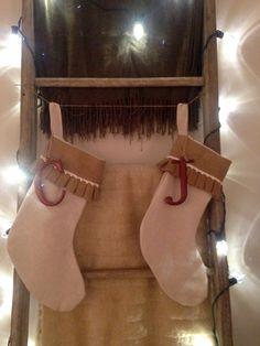 Stockings on my ladder
