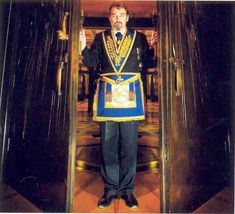 Doors of the Masonic Temple at Covent Garden in London