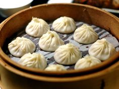 Xiaolongbao (小笼包) is a type of steamed bun from China. It is traditionally steamed in small bamboo baskets, and are often referred to as soup dumplings or simply dumplings. #buns #xiaolongbao #china